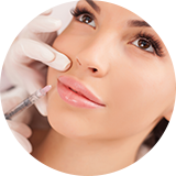 Faltenbehandlung mit Hyaluronsäure M1 Med Beauty Wien
