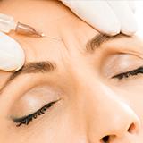 Faltenbehandlung mit Muskelrelaxans M1 Med Beauty Wien