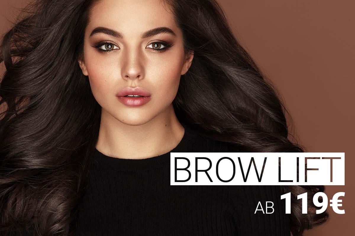 Brow Lift-Behandlung mit Muskelrelaxans bei M1 Med Beauty Austria