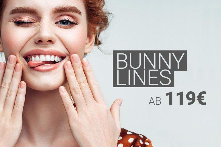 Behandlung der Bunny Lines mit Muskelrelaxans bei M1 Med Beauty Austria
