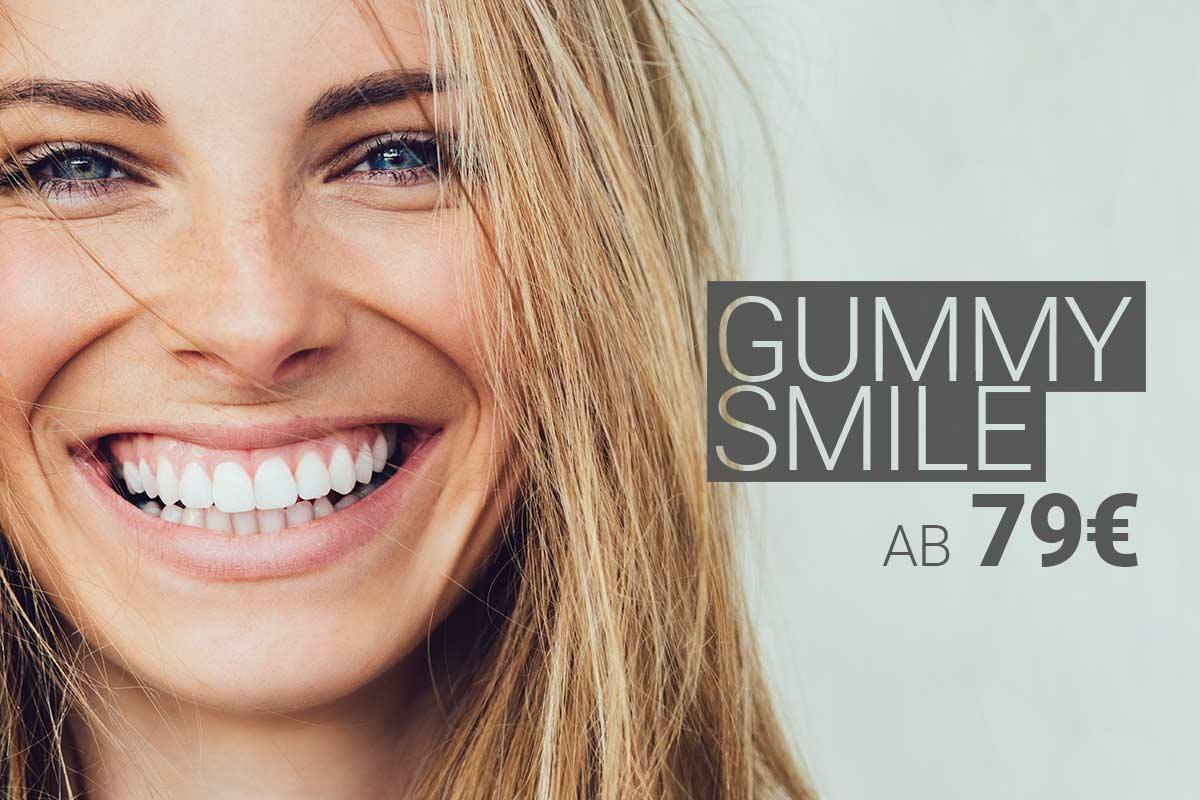 Behandlung des Gummy Smile mit Muskelrelaxans bei M1 Med Beauty Austria