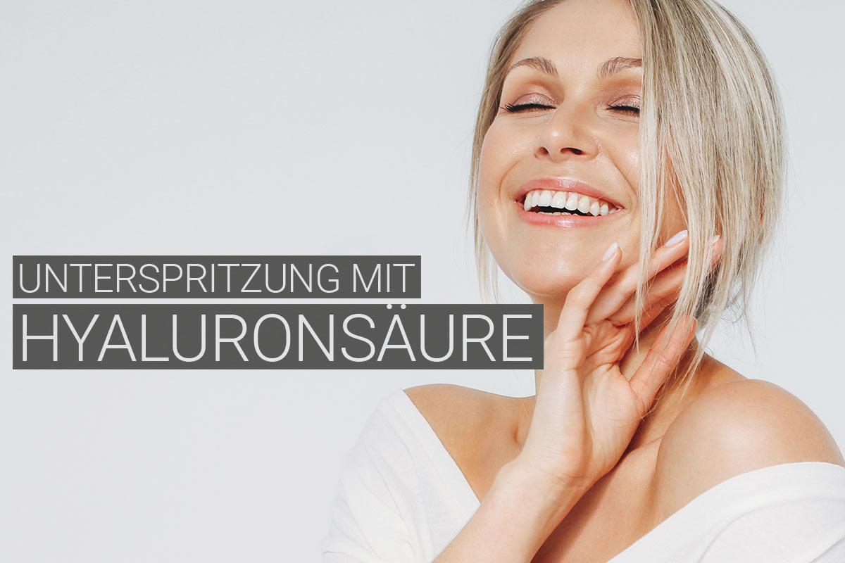 Unterspritzung mit Hyaluronsäure bei M1 Med Beauty Austria