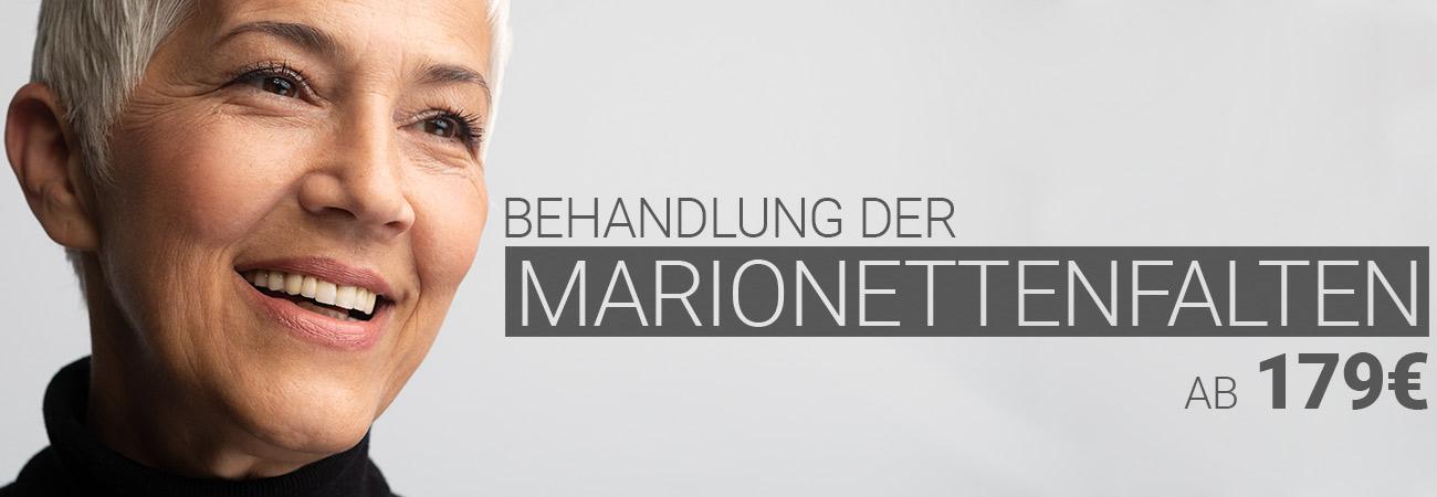 Marionettenfaltenbehandlung mit Hyaluron bei M1 Med Beauty Austria