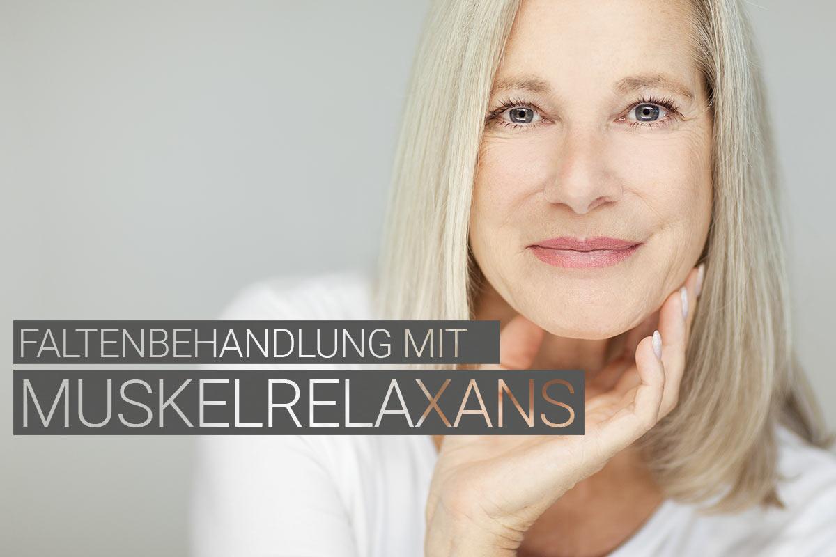 Faltenbehandlung mit Muskelrelaxans bei M1 Med Beauty Austria