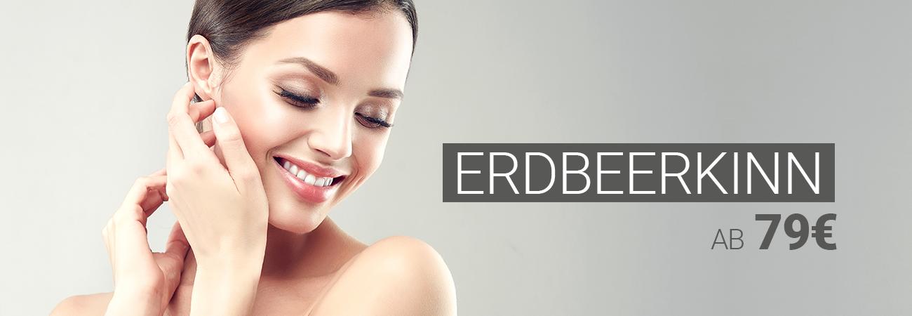 Behandlung des Erdbeerkinns mit Muskelrelaxans bei M1 Med Beauty Austria