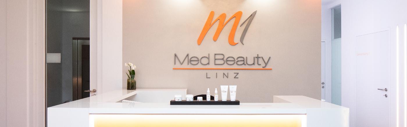 M1 Med Beauty Linz_Fachzentrum für Ästhetische Medizin_Empfangsberich