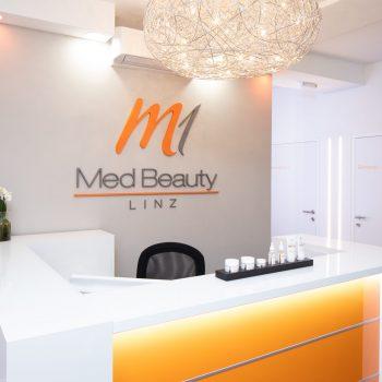M1 Med Beauty Linz Empfang