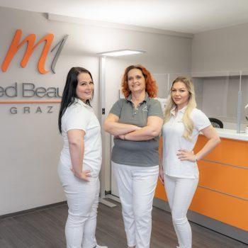 M1 Med Beauty Graz Praxisteam