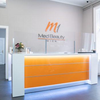 M1 Med Beauty Wien - Empfang